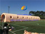 전람을%s 이동할 수 있는 공기 워크 스테이션 Infatable 갱도 천막