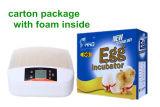 [لد] خفيفة آليّة مصغّرة دجاجة بيضة محضن لأنّ 56 بيضات ([يز-56س])