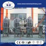 Système d'osmose d'inversion personnalisé par capacité d'acier inoxydable à l'usine de traitement des eaux