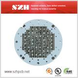 アルミニウム1.6mm LEDの照明のための2oz液浸の金のボードPCB