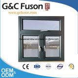 Fabrik-preiswerter Preis-Aluminiumluftschlitz-Fenster 2015
