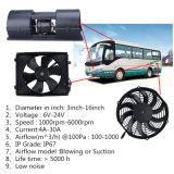 24V AsVentilator van de Condensator gelijkstroom van 5 Duim de Elektrische