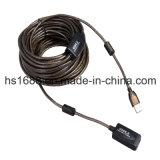 고속 USB 2.0 능동태 연장 케이블 30 미터
