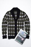Fall&Winter Long Sleeve V Neck Knitting Men Cardigan con Button