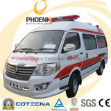 Professional Supplier Rhd 2WD Middle Roof Ambulance with Gasoline Engine