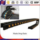 Máquina CNC pista de plástico cadena / cable de cadena