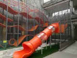 2016人の子供の娯楽装飾的なロープの釣り橋の屋外の運動場のゲーム