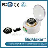 Mini centrifugadora del indicador digital para el laboratorio