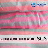 El hilado de la buena calidad 10.5m m teñió la tela de algodón de la seda el 75% del 25%