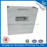 Kundenspezifischer neuer Entwurfs-weiße Packpapier-Einkaufstasche