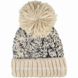 100%Cotton Soem Rib Knitted Hat, Knitted Beanie