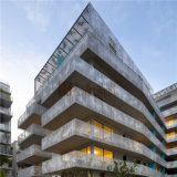 Панель специальной конструкции балкона Perforated алюминиевая для системы фасада