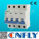 Interruptor miniatura de los fabricantes 20A del corta-circuito Dz47-63