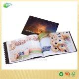 Книжное производство кассеты Cactalogue цветастого смещения кашевара A4 Softcover (CKT-BK-1142)