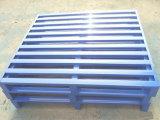 Armazenamento de aço durável resistente do armazém da bandeja do metal da pálete