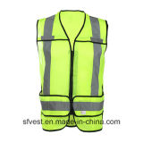 Het Hoge Vest van uitstekende kwaliteit van de Veiligheid van het Zicht Midden Lange