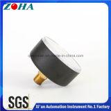 Calibres de pressão axiais para o mercado de América com o conetor do bronze Hpb59-1