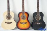 Guitarra acústica colorida nova Sg025 de instrumento musical da chegada de Aiersi