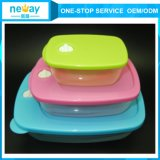 Wholesaleのための透過Cute 3 Sets Food Container