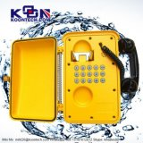 Telefone Dampproof industrial do telefone Knsp-01 do telefone à prova de intempéries