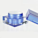 Mini vaso quadrato acrilico per il vaso crema cosmetico