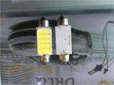 Lampada di comitato della PANNOCCHIA LED di promozione con la lampada interna automatica del programma della lettura dell'automobile del festone Ba9s 3adapter della cupola