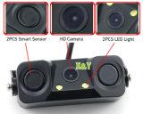 Cámara del Rearview del coche con el sensor Xy-9818d del estacionamiento
