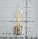 LEDのフィラメントランプC35 2W E14/E27/B22