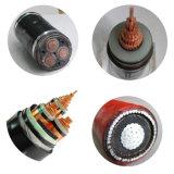 Cable de transmisión medio del voltaje con el precio más barato (YJV-22)