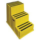 3 Jobstepp-Jobstepp-Strichleiter mit 500 lbs. Nutzlast (44ZJ63)