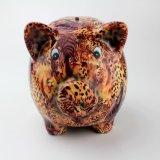 Batería guarra irrompible al por mayor de cerámica del diseño del cerdo
