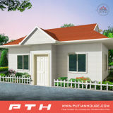 Дом виллы низкой стоимости селитебная светлая стальная с подгонянной конструкцией