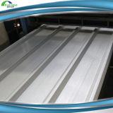 Hoja de aluminio coloreada palmo largo de la azotea de la prueba de calor del trapecio del cinc (RT-017)