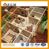 El interior modela el modelo modelo de /Apartment de los modelos/de la unidad de /Scene