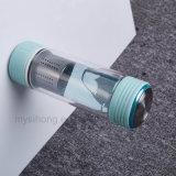 Não-Caem Borosilicate Garrafa de água de vidro de Dringking