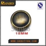 カスタム金属は衣服の服装のための球のようなボタンに玉を付ける