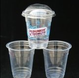 450ml pp. Plastic Cup mit Lid (YHP-092)