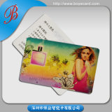 Big Embossed Number를 가진 Plastic Membership Card 인쇄