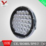 新しい9inch LEDオフロード作業ライト160Wの極度の明るさ