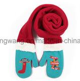 Полиэфира ватки способа связанный зимой шарф приполюсного длинний для рождества