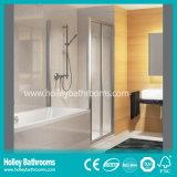 Cabina rectangular abierta vendedora caliente de la ducha de la dimensión de una variable de la bisagra (SE312N)