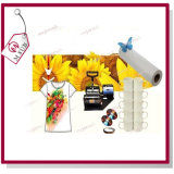 Inkjet 0.914*100m 100GSM Dye Sublimation Paper em Roll