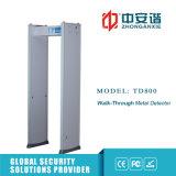 Metal detector del blocco per grafici di portello dell'alimentazione elettrica dell'interruttore di sensibilità dei 200 livelli