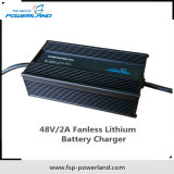 carregador de bateria do lítio de 48V 2A Fanless