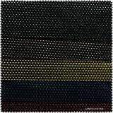 Funkelndes Dreieck-Muster-Leder für Schuhe (S186100NB)