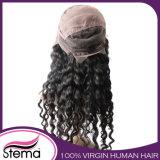 La maggior parte della parrucca piena brasiliana del merletto dei capelli umani del Virgin popolare