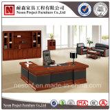 Tableau classique de bureau exécutif de placage en bois solide de meubles de bureau (NS-SL023)