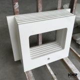 Kitchen를 위한 인공적인 Stone Pure White Quartz Counter Top