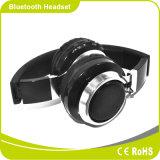 Diodo emissor de luz que ilumina o auscultadores portátil de Smartphone Bluetooth da forma baixa estereofónica Foldable da potência da música