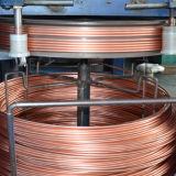 Fio folheado do CCA do alumínio do cobre de cobre do condutor encalhado